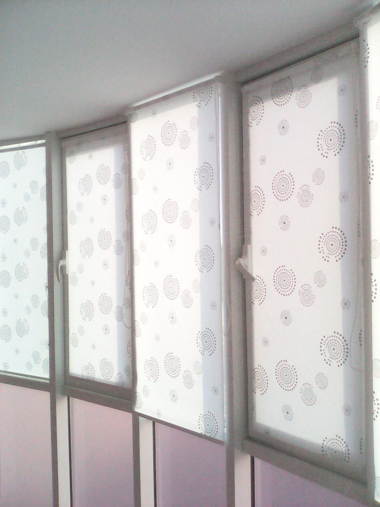 Рулонные шторы № 3