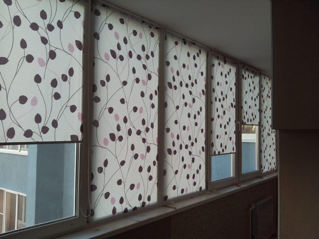 Рулонные шторы № 13