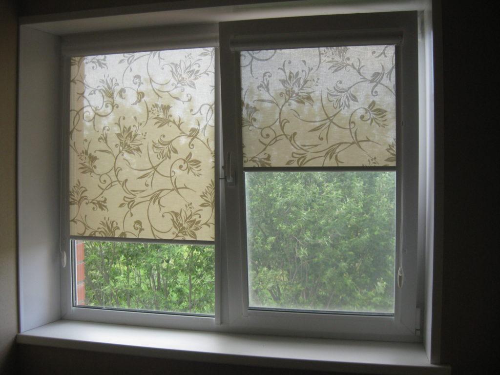 Рулонные шторы № 17
